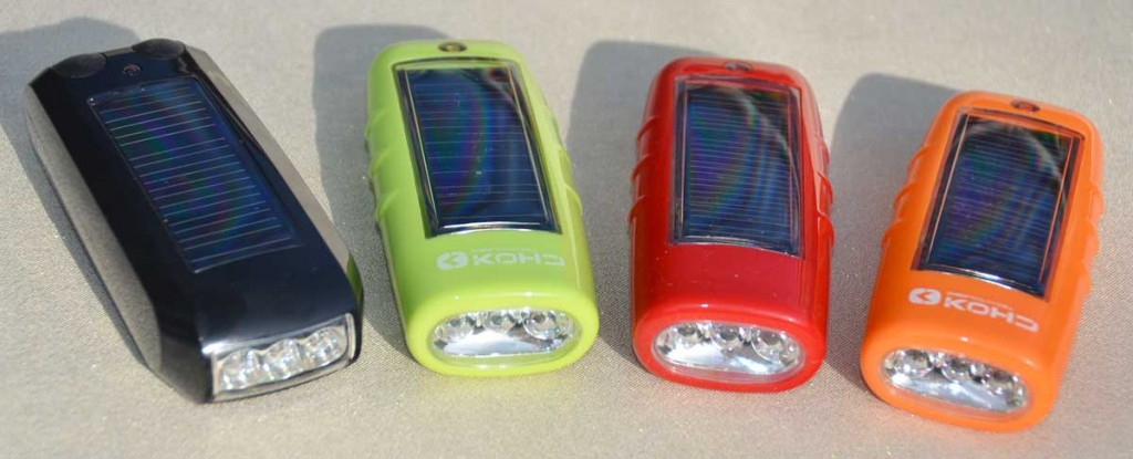 Solar Bike Lights All Colors
